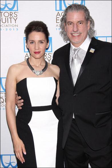 Tricia Paoluccio and Gabriel Barre