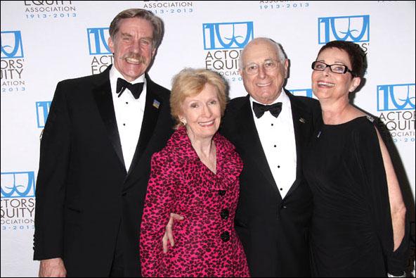 Nick Wyman, Florence Libin, Paul Libin and Mary McColl