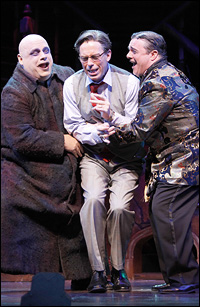 Kevin Chamberlin, Terrence Mann and Nathan Lane