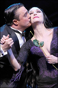 <I>The Addams Family</I> stars Nathan Lane and Bebe Neuwirth