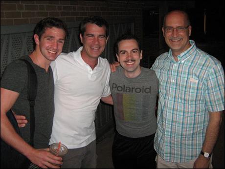 Dan DeLuca, Mike Isaacson, Me, Joe Ortmeyer