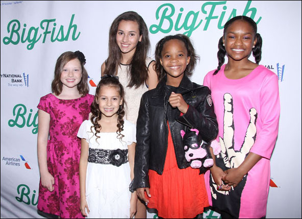 Zoe Colletti, Nicolette Pierini, Amanda Troya, Quvenzhane Wallis and Eden Duncan Smith