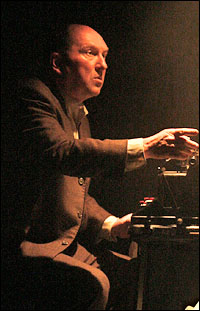Joel Hatch in <i>Adding Machine</i>.