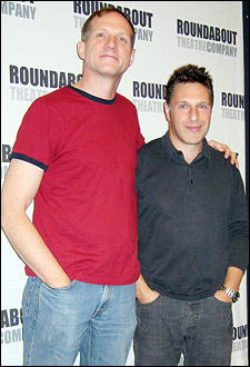 Director Mark Brokaw and playwright Patrick Marber