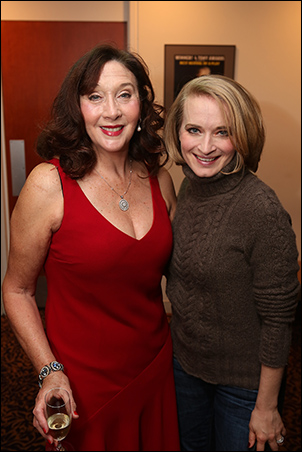Sandra Shipley and Joyce Chittick