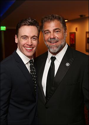 Erich Bergen and Chuck Wagner