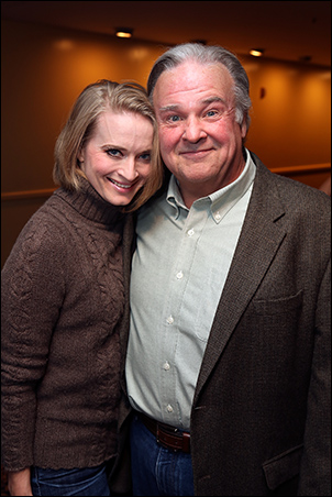 Joyce Chittick and Fred Applegate