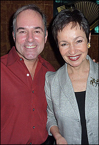 Stephen Flaherty and Lynn Ahrens
