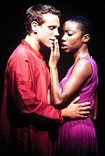Original <I>Aida</I> stars Adam Pascal and Heather Headley.