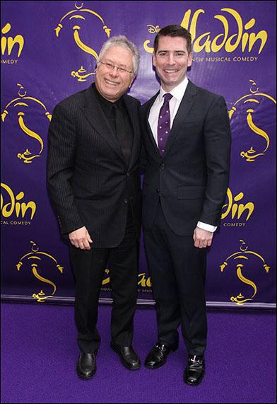 Alan Menken and Chad Beguelin
