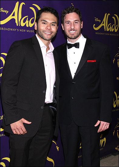 Bobby Pestka and Aleks Pevec