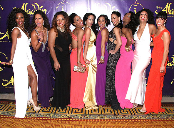 Daisy Hobbs, Jennifer Rias, Marisha Wallace, Rhea Patterson, Courtney Reed, Tia Altinay, Nikki Long, Khori Michelle Petinaud, Ariel Reid and Lauryn Ciardullo