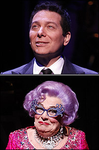<I>All About Me</I> stars Michael Feinstein and Dame Edna