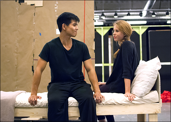 Telly Leung and Allie Trimm