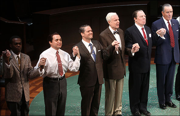 William Jackson Harper, Rob Campbell, Robert Petkoff, John McMartin, Michael McKean and Bryan Cranston