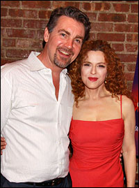 Alexander Hanson and Bernadette Peters