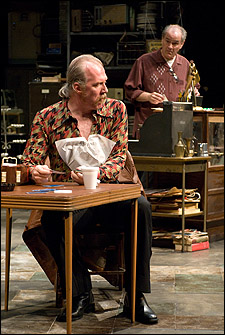 Tracy Letts and Francis Guinan