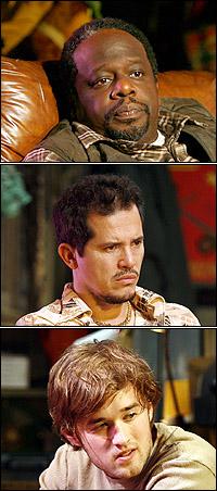 <I>American Buffalo</I> stars Cedric the Entertainer, John Leguizamo and Haley Joel Osment
