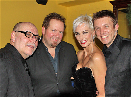 Mark Hummel (piano, musical director), Jeff Carney (bass), Amra-Faye Wright and Heinrich Kruse (drums)