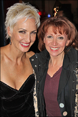 Amra-Faye Wright and Bonnie Langford
