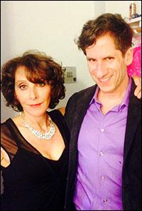 Seth with Andrea Martin