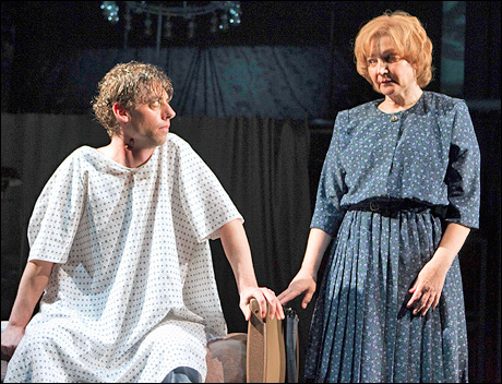 Christian Borle and Robin Bartlett in Part Two, Perestroika