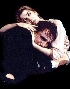 Liam Neeson and Natasha Richardson in Anna Christie, 1993