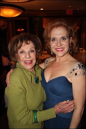 Joan Copeland and Anna Bergman