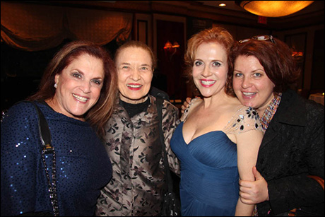 Peggy Herman, Julie Wilson, Anna Bergman and Klea Blackhurst
