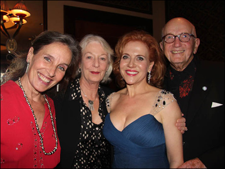 Andrea Marcovicci,  Jane Alexander, Anna Bergman and Ed Sherin