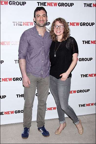 Morgan Spector and Emily Althaus