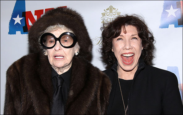 Elaine Stritch and Lily Tomlin