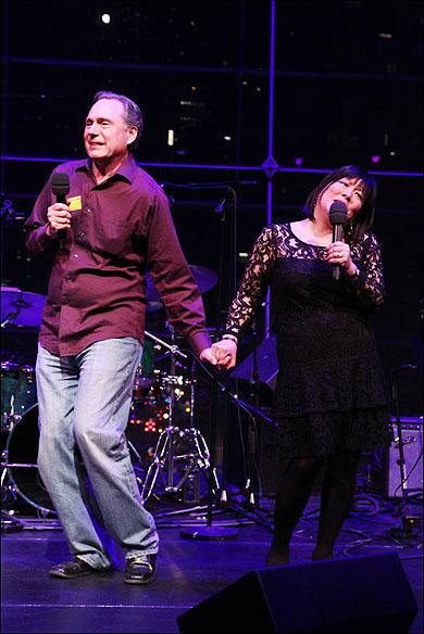 Kevin Pariseau and Ann Harada