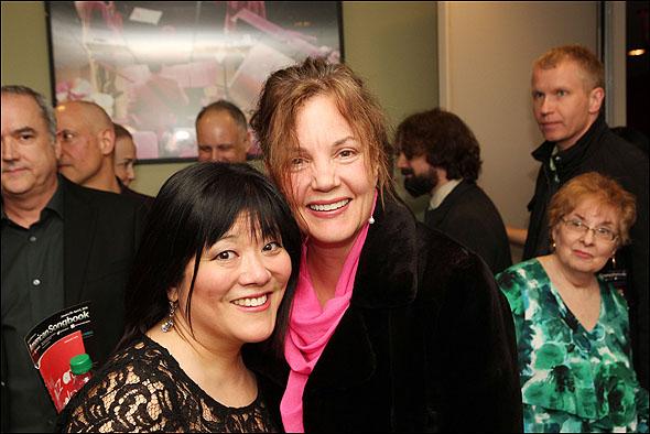 Ann Harada and Margaret Colin