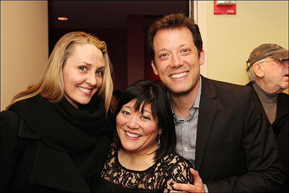 Shannon Lewis, Ann Harada and John Tartaglia