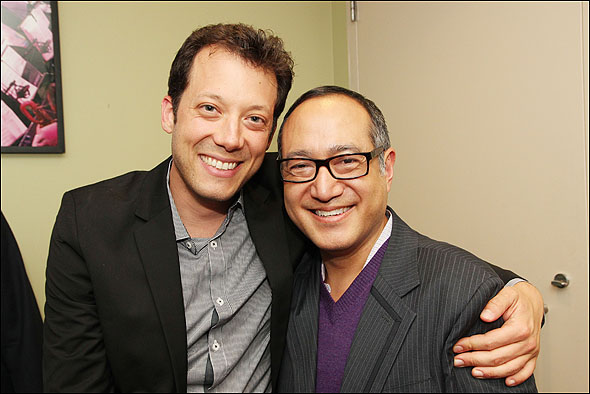 John Tartaglia and Alan Muraoka