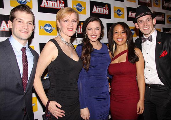 Ryan VanDenBoom, Sarah Solie, Desi Oakley, Ashley Blanchet and David Rossetti