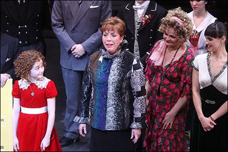 Taylor Richardson, Julie Duke, Faith Prince and Brynn O'Malley