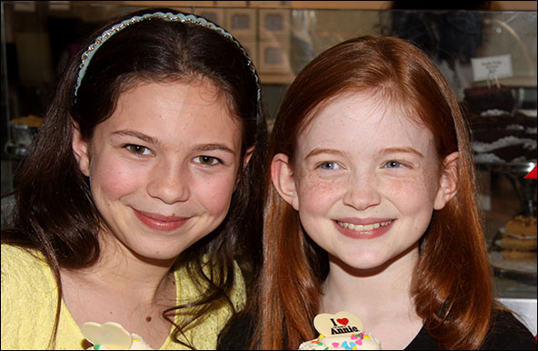 Madi Rae DiPietro and Sadie Sink