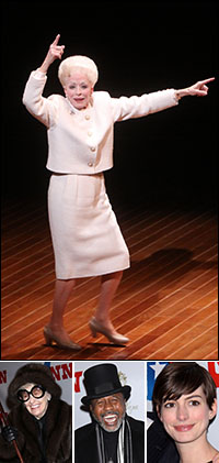 Holland Taylor; guests Elaine Stritch, Ben Vereen and Anne Hathaway