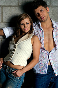 Anya Garnis and Pasha Kovalev