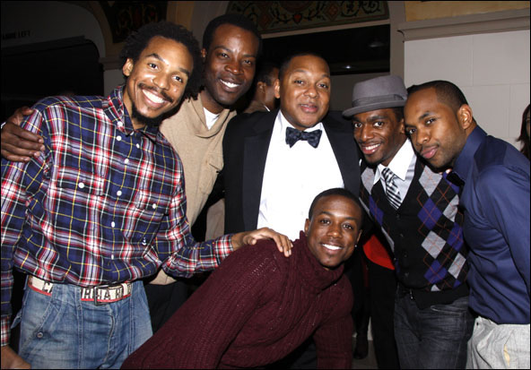 Joseph Monroe Webb, J.L. Williams, Wynton Marsalis, Christopher Broughton, Daniel J. Watts and Jason E. Bernard
