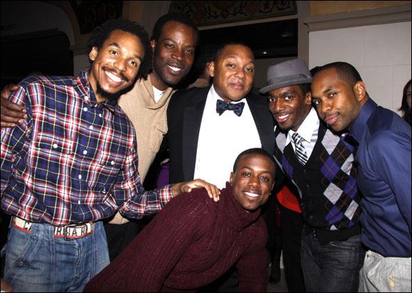 Joseph Monroe Webb, JL Williams, Wynton, Marsalis, Christopher Broughton, Daniel J. Watts and Jason E. Barnard