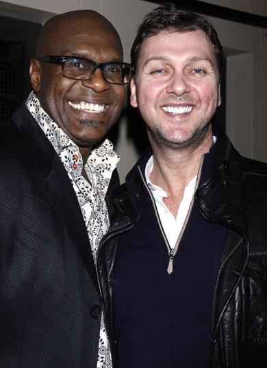 Everett Bradley and Warren Carlyle