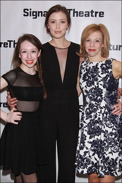 Izzy Hanson-Johnston, Sonya Harum and Maddie Corman