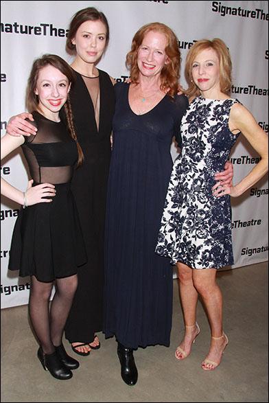 Izzy Hanson-Johnston, Sonya Harum, Johanna Day and Maddie Corman