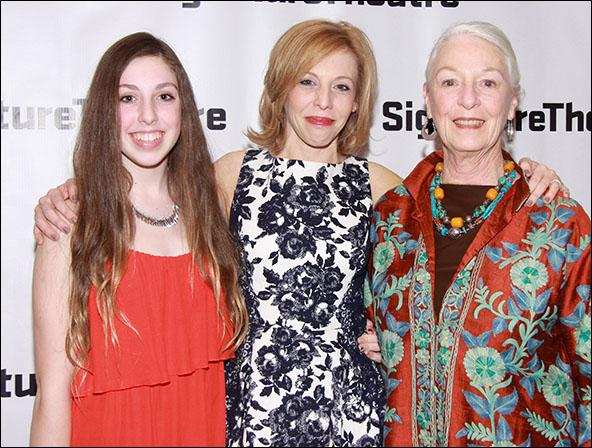 Isa Alexander, Maddie Corman and Jane Alexander