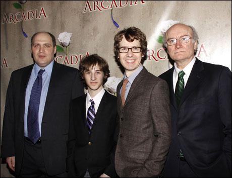 Glenn Fleshler, Noah Robbins, David Turner and Edward James Hyland