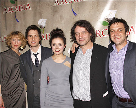 Lia Williams, Tom Riley, Bel Powley, David Leveaux and Raúl Esparza