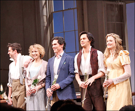 Raul Esparza, Lia Williams, Billy Crudup, Tom Riley and Grace Gummer